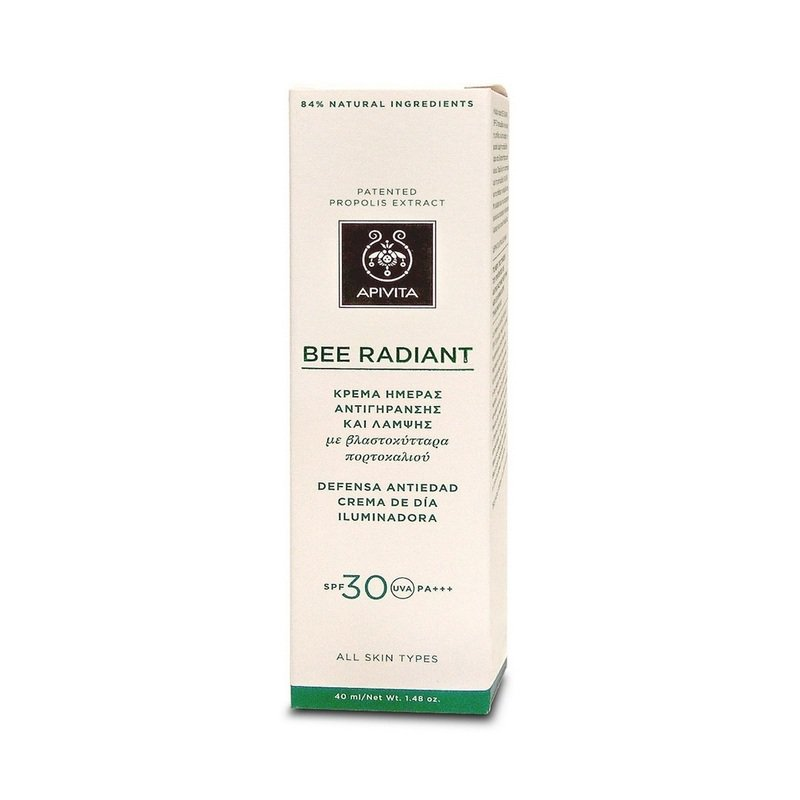 Apivita Bee Radiant Day Cream SPF30 40Ml
