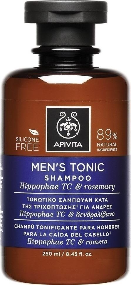Apivita Τονωτικό Σαμπουάν Κατά της Τριχόπτωσης για Άνδρες με Ιπποφαές & Δεντρολίβανο, 250Ml