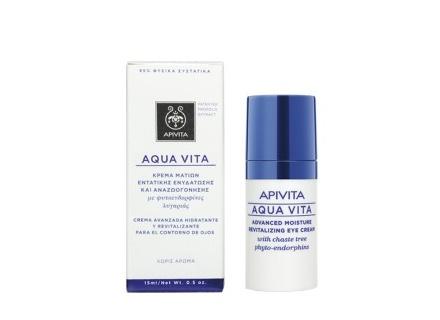 304ebe4a08 Apivita Aqua Vita Κρέμα Εντατικής Ενυδάτωσης Και Αναζωογόνησης Ματιών 15Ml