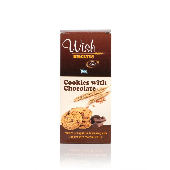 Wish Cookies With Chocolate 90gr