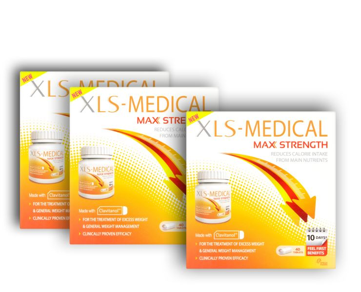 XLS Medical Max Strength 40 δισκία (2+1 δώρο)