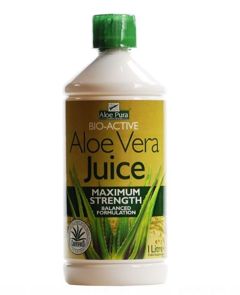 Optima Aloe Vera Juice Maximum Strength 1 Litre