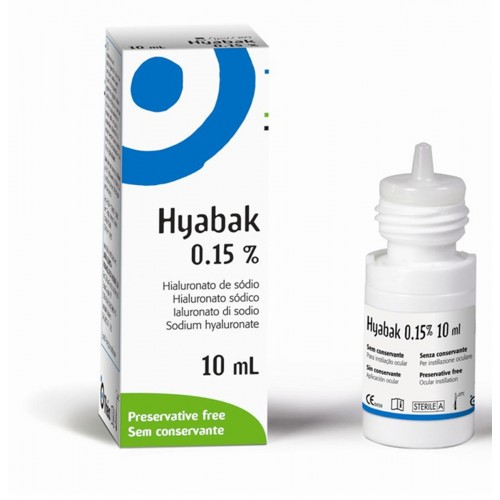 Hyabak Sol 0,15% Bottle 10Ml