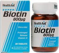 Health Aid Biotin 800mg 30Tabs