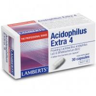 Lamberts Acidophilus Extra 4 (Milk Free) 30 Caps