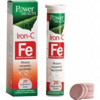 Power Health Iron + C 20 Effervescent tabs