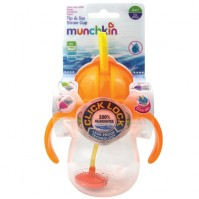 Munchkin Click Lock Tip & Sip Straw Cup