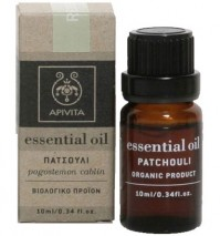Apivita Essential Oil Πατσουλί 10Ml