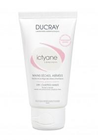 Ducray Ictyane Κρέμα Για Ξηρά Σκασμένα Xέρια 50Μl