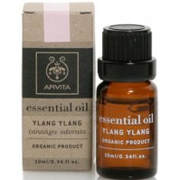 Apivita Essential Oil Ylang-Ylang Cananga Odorata 10Ml