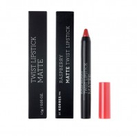 Korres Rasberry Matte Twist Lipstick Imposing Red 1.5g