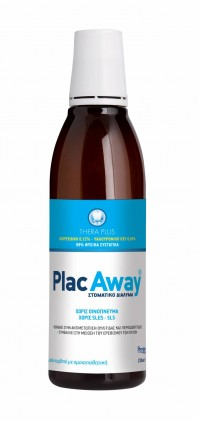 Plac Away Thera Plus 0.12% Mouthwash 250ml