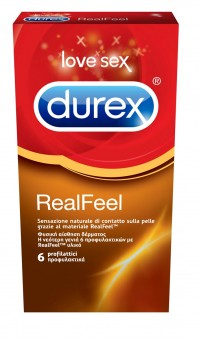 Durex Real Feel 6Τμχ