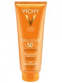 Vichy Ideal Soleil Lait Hydra Spf50 300Ml