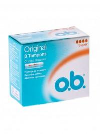 O.B. Original Super 8 tampons