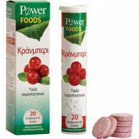 Power Health Foods Cranberry 20 Effervescent Tabs