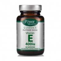 Power Health Classics Platinum - Vitamin E 400Iu, 30 Caps