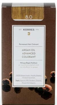 Korres Argan Oil Color Light Blonde 8.0