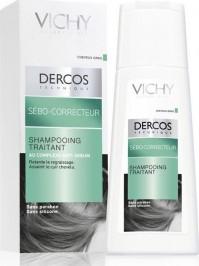 Vichy Dercos Shampooing Sebo-Correcteur (Oil Control) 200Ml