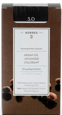 Korres Argan Oil Color Dark Brown 3.0
