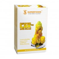 Superfoods Super Lax Με Σεννα 360Mg 30 Caps