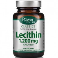Power Health Classics Platinum - Lecithin 1.200Mg, 60 Caps