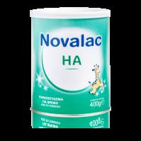 a15226f48ba Novalac HA Γάλα Σκόνη 1ης Βρεφικής Ηλικίας Για την Πρόληψη Εκδήλωσης  Αλλεργιών 400g
