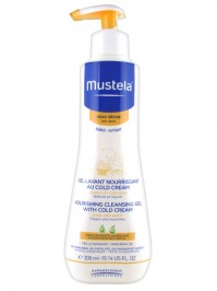 Mustela Nourishing Cleansing Gel With Cold Cream Hair & Body 300ml
