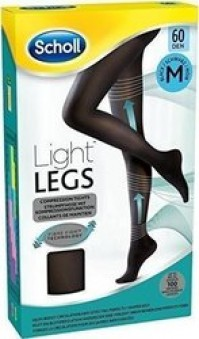 Scholl Light Legs 60DEN (Black) Medium