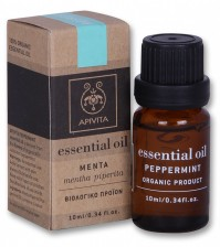 Apivita Essential Oil Μέντα 10ml