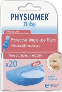 Physiomer Baby Nasal Aspirator Filters 20Τμχ