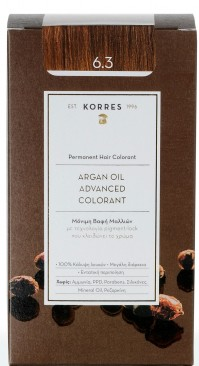 Korres Argan Oil Color Gold Honey Dark Blond 6.3