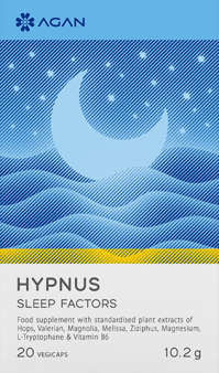 Agan Hypnus Sleep Factors 20vegicaps
