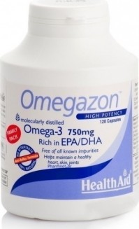Health Aid Omegazon 750 Mg 120 Caps