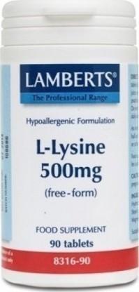 Lamberts Ami L-Lysine 500Mg 90Tabs
