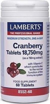 Lamberts Cranberry 60 Tabs