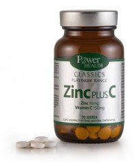 Power Health Classics Platinum Zinc Plus C 30 Δισκία