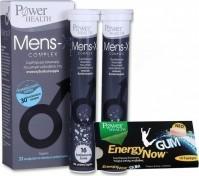 Power Health Mens-X Complex 32 Αναβράζοντα Δισκία & Energy Gum 10 Τεμάχια