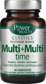 Power Health Classics Platinum - Multi+Multi Time 30 Tabs