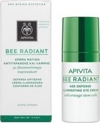 Apivita Bee Radiant Κρέμα Ματιών Αντιγήρανσης Και Λάμψης 15Μl