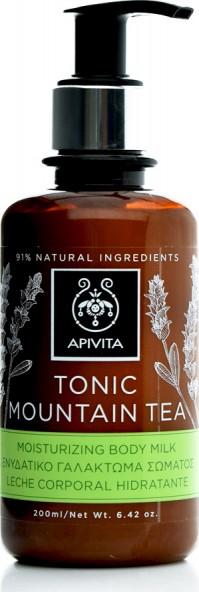 Apivita Ενυδατικό Γαλάκτωμα Σώματος Τοnic Mountain Tea 200ml