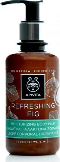 Apivita Ενυδατικό Γαλάκτωμα Σώματος Refreshing Fig 200ml