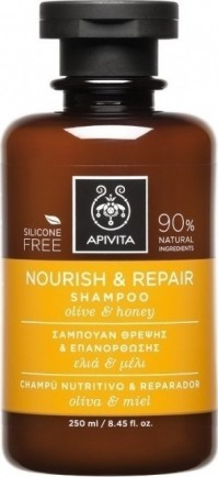 Apivita Shampoo Nourishing & Repair Olive & Honey 250Ml
