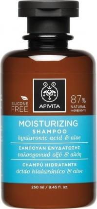 Apivita Shampoo Moisturizing Hyaluronic Acid & Aloe 250Ml