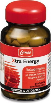 Lanes Multi Πολυβιταμίνη Xtra Energy 30 Δισκία