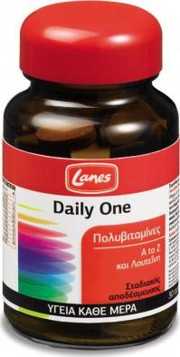 Lanes Multi Πολυβιταμίνη Daily One 30 Δισκία