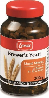 Lanes Brewers Yeast 300 Mg 400 Tabs