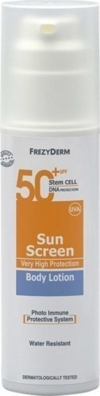 Frezyderm Sun Screen Body Lotion Spf50+ 150Ml