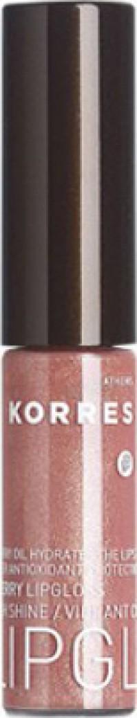 Korres Lip Gloss Με 'Ελαιο Από Κεράσι 32 Μπεζ Ροζ