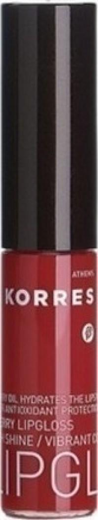 Korres Lip Gloss Με Έλαιο Από Κεράσι 52 Κόκκινο